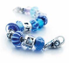 Blue troll beads.