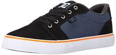 DC Men's Anvil Action Sports Shoe - http://shop.dailyskatetube.com/?post_type=product&p=2044 -  Anvil from DC Shoes. That includes a and canvas higher, these Low-most sensible Shoes for men sign up for the road-up within the Summer 2015 collection. Different special options come with vent holes for breathability and a Vulcanized construction for excellent board feel and sole flex. Suede and -