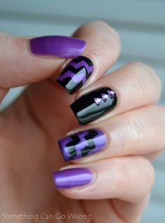 GinaTricot 11 Grape Purple and 01 Black