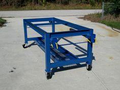 Welding Bench, Welding Cart, Welding Shop, Diy Welding, Metal Welding, Welding Workshop, Cool Welding Projects, Cnc Table, Welding Design
