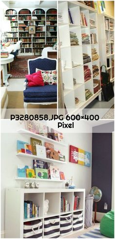 Ikea Billy Bookcase Hack, Shelves, Home Decor, Shelving, Decoration Home, Room Decor, Shelf, Interior Design, Home Interiors