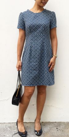 @starfishfinger's Megan dress - sewing pattern in Love at First Stitch