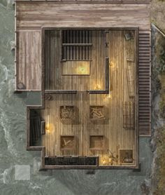 The Seven's Sawmill Second Floor by hero339 on DeviantArt