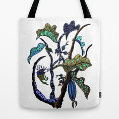 Jolie Ville Tote Bag by Marie Elke Gebhardt - $22.00