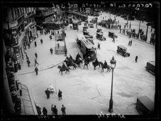 Cargas de la policía en la Puerta del Sol durante las elecciones municipales del 12 de abril I, Madrid, 1931