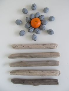 """Lonely Beach Driftwood Collection. 8""""- 9"""" Straight Craft Drift Wood Sticks Driftwood Pieces For Crafs & Art by LonelyBeach on Etsy"""