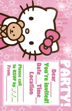 Free printable hello kitty invitation card marchesas hk theme printable hello kitty birthday invitation cards 2017 stopboris Choice Image