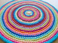 crochet mandala ~ tutorial.