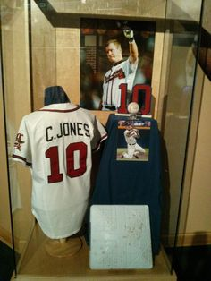 BravesLove- New Chipper display in the museum.