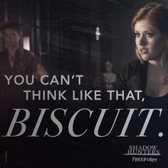 "S1 Ep6 ""Of Men and Angels"" - Biscuit.  #Shadowhunters"