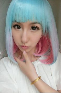 GET $50 NOW | Join RoseGal: Get YOUR $50 NOW!http://www.rosegal.com/cosplay-wigs/medium-side-bang-colored-straight-848171.html?seid=7518539rg848171