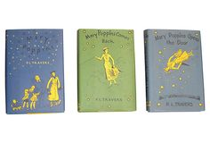 Mary Poppins, Set of 3 - for Bookcase in 2nd Bedroom
