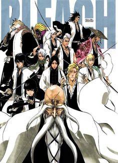 Bleach anime and manga ( IDK it's pretty good tho) Bleach Anime, Bleach Fanart, Manga Anime, Manga Art, Shinigami, Bleach Characters, Anime Characters, Espada Anime, My Favorite Image