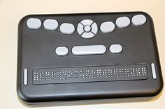 Affordable braille reader launched (Image: black electronic braille reader/ writer)