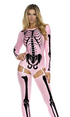 Bone Collector Sexy Skeleton Costume by Forplay Sexy Skeleton Costume, Goth Halloween Costume, Halloween Outfits, Halloween Clothes, Halloween Ideas, Sexy Costumes For Women, Cute Costumes, Costume Ideas, Sexy Outfits