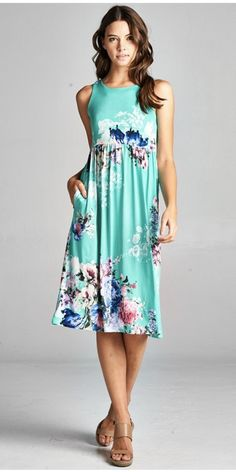 ~~~LOVE this floral dress! The colors are gorgeous. Try stitch fix today! Get looks just like these handpicked by your own personal stylist and delivered right to your doorstep. New to stitch fix? Just click the picture to get started! Stitch fix summer 2017 #affiliatelink