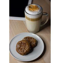 Galletas de crema de frutos secos - Natural Wean Snack, Natural, Tableware, Cream Cookies, Shredded Coconut, 4 Ingredients, Breakfast, Afternoon Snacks, Dinnerware