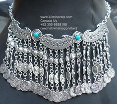kuchi jewellery necklace Collar Tribal Fusion afghan kuchi necklace  turkish coins necklace