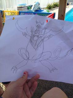 Jackson's dragon Jackson's Art, 8 Year Olds, Dragon, Tote Bag, Dragons, Totes, Tote Bags