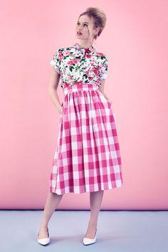 The Picnic Skirt - Pink | Tara Starlet