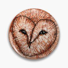 One Design, Custom Design, Owl Illustration, Badge Design, Badges, How To Draw Hands, My Arts, Barn, Buttons