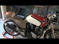 Cafè Racer - Honda CBX 550 - More progresses - YouTube