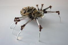 Steampunk Insects by Tom Hardwidge's