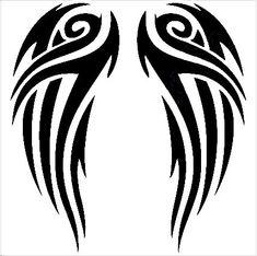 Wing Tattoo Designs, Sketch Tattoo Design, Tattoo Sketches, Tattoo Drawings, Tribal Arm Tattoos, Body Art Tattoos, Celtic Tattoos, Skull Tattoos, Wing Tattoos