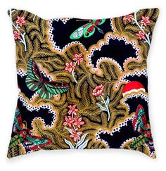 """kristiomeara: """" 'Paradise' Throw Pillow designed by @kristi.omeara for our collab with @fab. Get yours & check out our full collection at https://fab.com/designer/the-patternbase (at The Patternbase) """""""