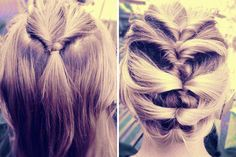 For medium and short-haired girls like me. :) 12 Hair Hacks For Short-Haired Girls via Brit + Co. Short Hair Hacks, Short Hair Styles, French Twist Hair, French Braid, French Twists, Pretty Hairstyles, French Hairstyles, Twist Hairstyles, Formal Hairstyles