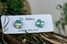 Stud Earrings. JL Atelier 2015. https://www.etsy.com/shop/JLAtelier