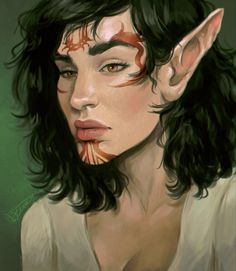 Ideas drawing hair styles men character design for 2019 Fantasy Characters, Female Characters, Dnd Characters, Man Character, Character Design, Vampires, Small Tattoo Placement, Sleepy Girl, Fish Drawings