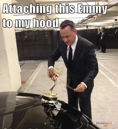 Funny pictures about Tom Hanks attempts to turn his limo car into a Rolls Royce. Oh, and cool pics about Tom Hanks attempts to turn his limo car into a Rolls Royce. Also, Tom Hanks attempts to turn his limo car into a Rolls Royce. Monsieur Madame, Funny Quotes, Funny Memes, Car Quotes, Funny Pranks, Movie Quotes, Actrices Hollywood, Totally Me, Matt Bomer