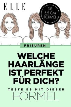 Hair Length: With this formula, you can find out which one is yours Lange oder kurze Haare? Mit dieser Formel findest du heraus, welche Haarlänge dir am besten steht - Unique Long Hairstyles Ideas Permed Hairstyles, Cool Hairstyles, Hairstyle Ideas, Homemade Dry Shampoo, Rides Front, Which One Are You, Light Hair, Prom Hair, Hair Lengths