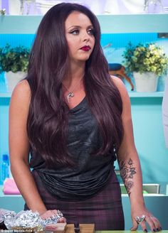Little Mix's Jesy Nelson unveils GIANT new rose tattoo on her forearm - Hair Makeup Jesy Nelson, Rose Tattoo On Arm, Arm Tattoo, Little Mix Jesy, Celebrity Bodies, Star Wars, Celebrity Gallery, Girl Bands, Trends