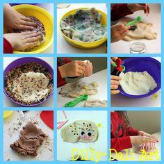Dilly-Dali Art: Process Art {Play Dough}