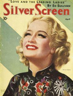 Miriam Hopkins - Silver Screen Magazine [United States] (April 1936)