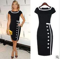 Sale Retro Black Topshop Star Street OL High Quality Denim Vestido Apparel Runway Dress Top Design Girl Wear Women Clothing