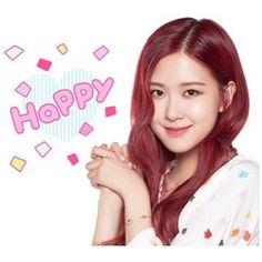 Kpop Girl Groups, Korean Girl Groups, Sweet Like Chocolate, Lisa, Rose Park, Blackpink Video, Park Chaeyoung, Line Sticker, Tumblr Girls
