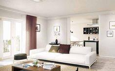 Die Eigentumswohnungen, welche teilweise über zwei Etagen gehen, bieten alle einen hochwertigen Ausstattungsstandard. Neubauprojekt GATSBY der Projektgesellschaft Westend FIFTYTWO GmbH.