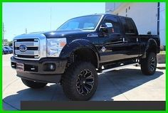 """2015 ford f-250 with 22"""" wheels with 6'' suspension lift.   2016 Ford F-250 Platinum 6.7L Diesel 4x4 6"""" suspension lift 22"""" wheels ..."""