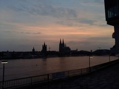 Sunset over Cologne