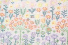 a textile design by Yoshiya Keiko