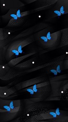 Black and blue butterfly Dragonfly Wallpaper, Blue Butterfly Wallpaper, Flower Phone Wallpaper, Mood Wallpaper, Wallpaper Iphone Cute, Cellphone Wallpaper, Colorful Wallpaper, Screen Wallpaper, Wallpaper Backgrounds