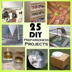 25 DIY Preparedness Projects