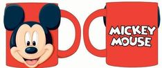 Disney Mickey Mouse Full Face 3d 11oz Ceramic Relief Mug * For more information, visit image link.