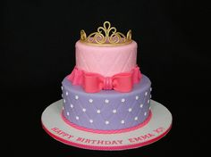 Tiara cake by cakesbyelisa, via Flickr