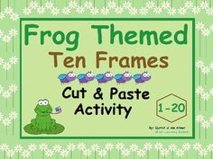 Frog Themed Ten Frames : Cut and Paste Activity* Ten Frames 1-20.* Cut and paste Pages from 1-20.* Flash Cards from 1-10.In this cut and paste activity students have to count the flies on Ten frames and then find the respective fly and cut it to paste that fly on the blank box.Students will easily get the concept of counting and through this fun activity.