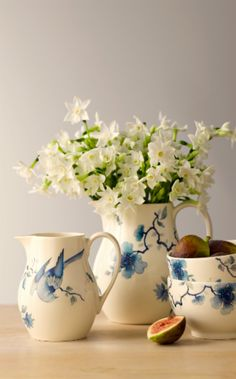 Update the home with the delicate Blue Bird by Wedgwood.