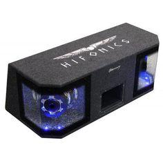 Subwoofer Dual Bandpass Hifonics Mercury MR-10 DUAL Wifi, Bluetooth, Mirror Link, Android, Usb Flash Drive, Control, Mercury, Google, Autos